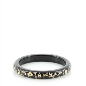 Louis Vuitton Jewelry - Inclusion Bangle Resin with Crystals FIRM